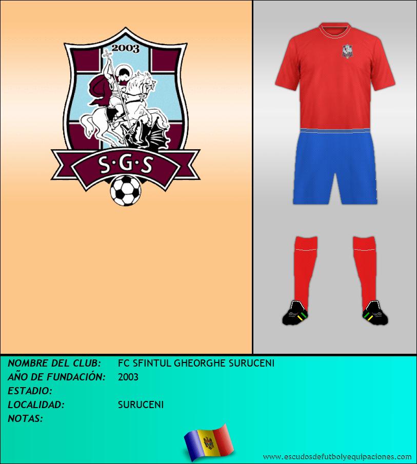 Escudo de FC SFINTUL GHEORGHE SURUCENI