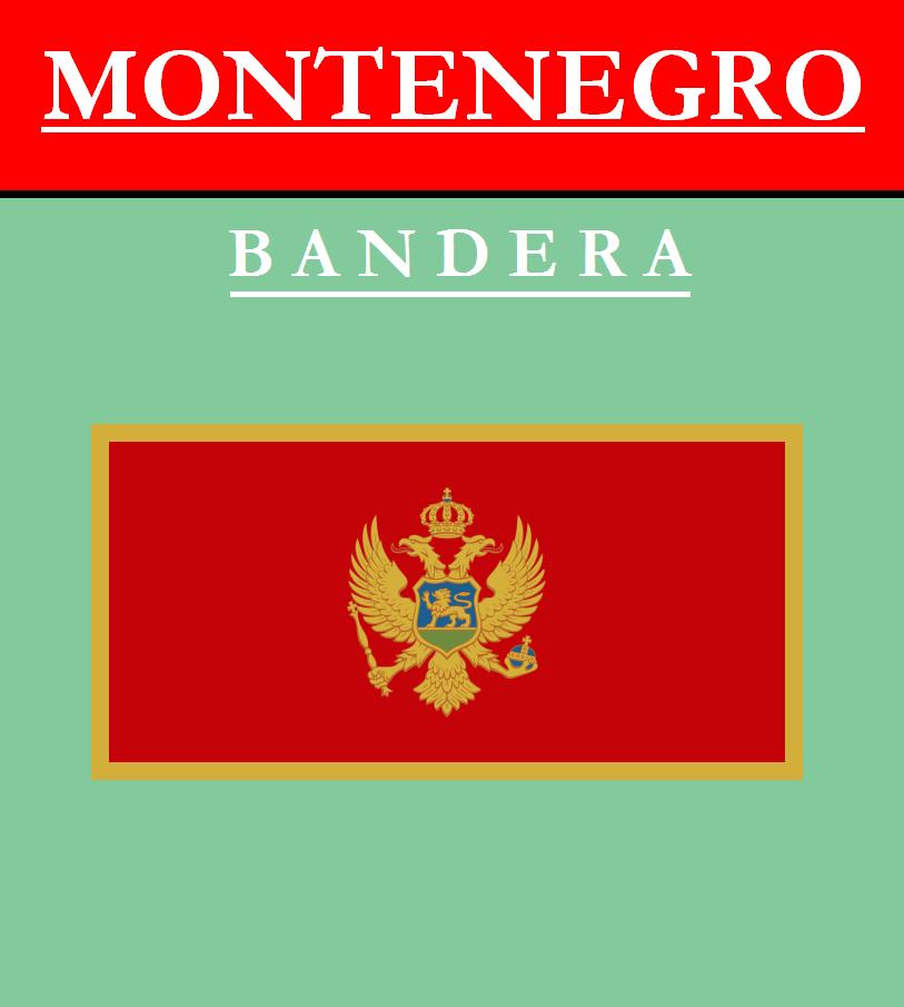 Escudo de BANDERA DE MONTENEGRO