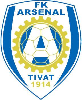 Escudo de FK ARSENAL TIVAT (MONTENEGRO)