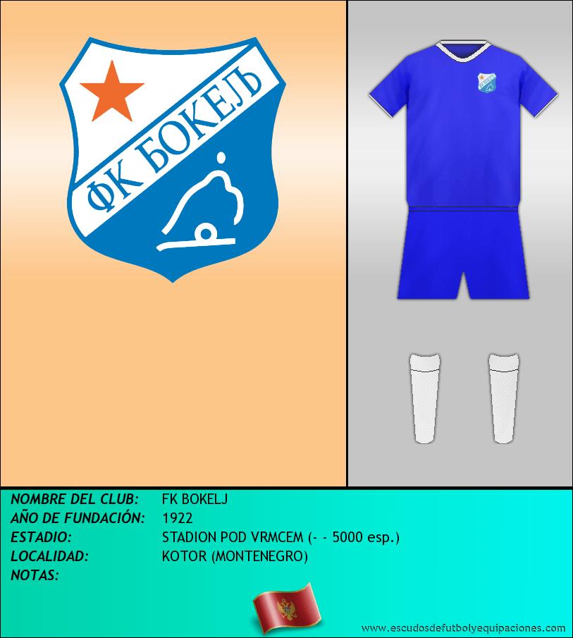 Escudo de FK BOKELJ