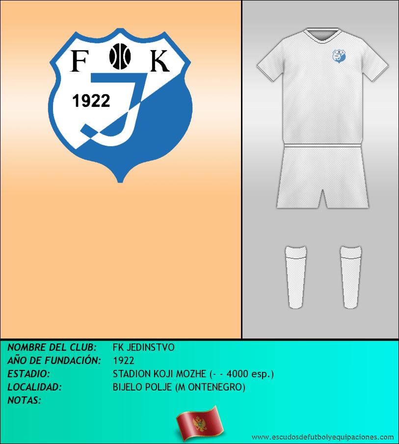 Escudo de FK JEDINSTVO
