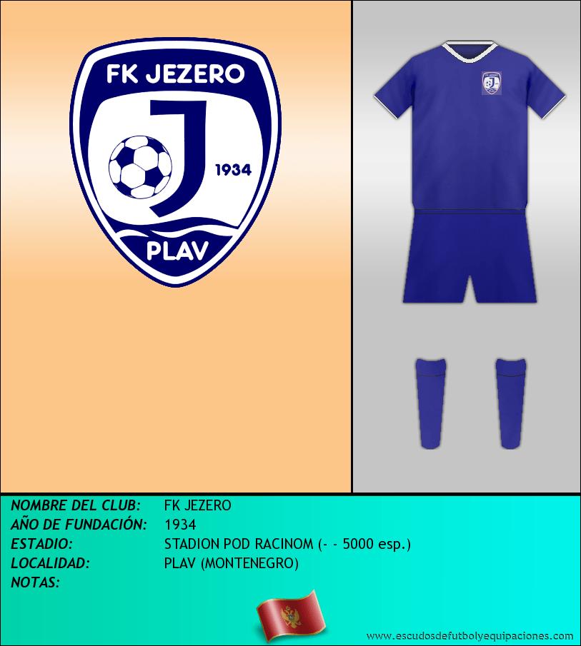 Escudo de FK JEZERO