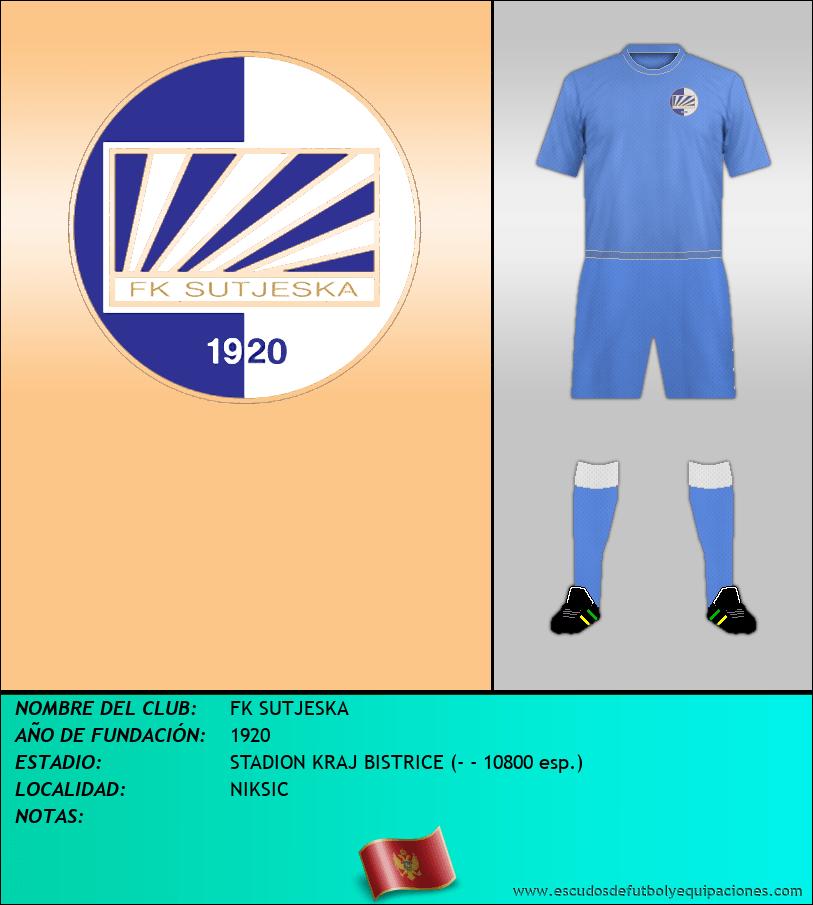 Escudo de FK SUTJESKA