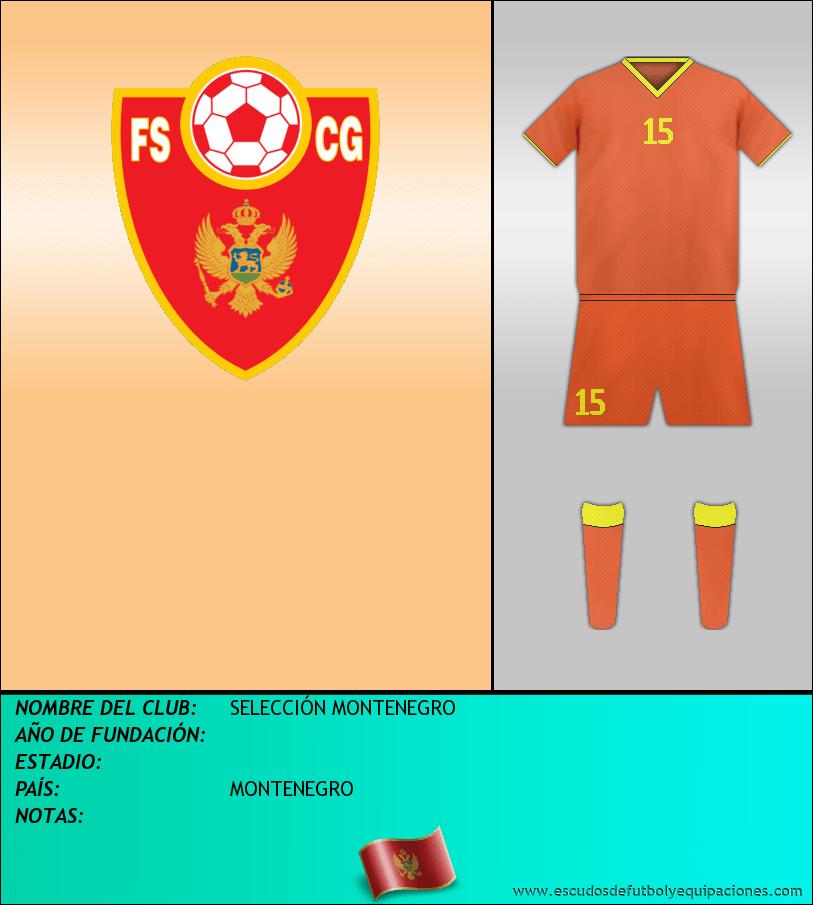 Escudo de SELECCIÓN MONTENEGRO