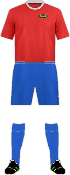 Equipación SKEID FOTBALL