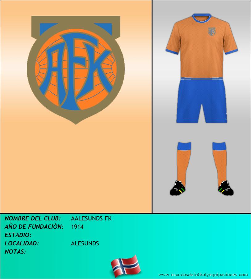 Escudo de AALESUNDS FK