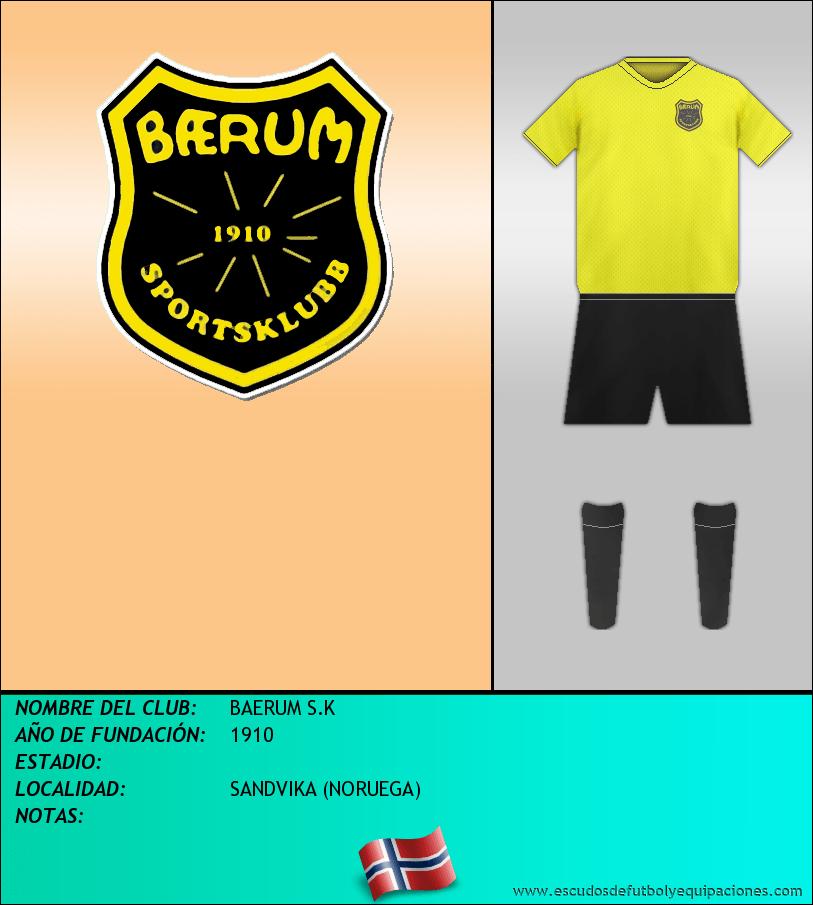 Escudo de BAERUM S.K