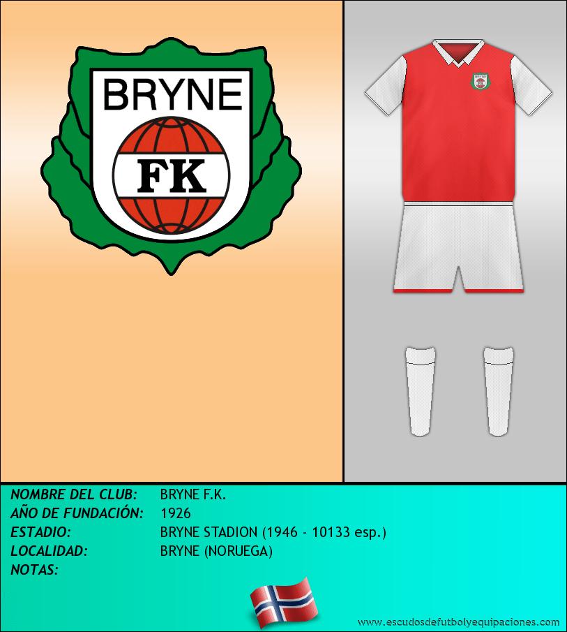 Escudo de BRYNE F.K.
