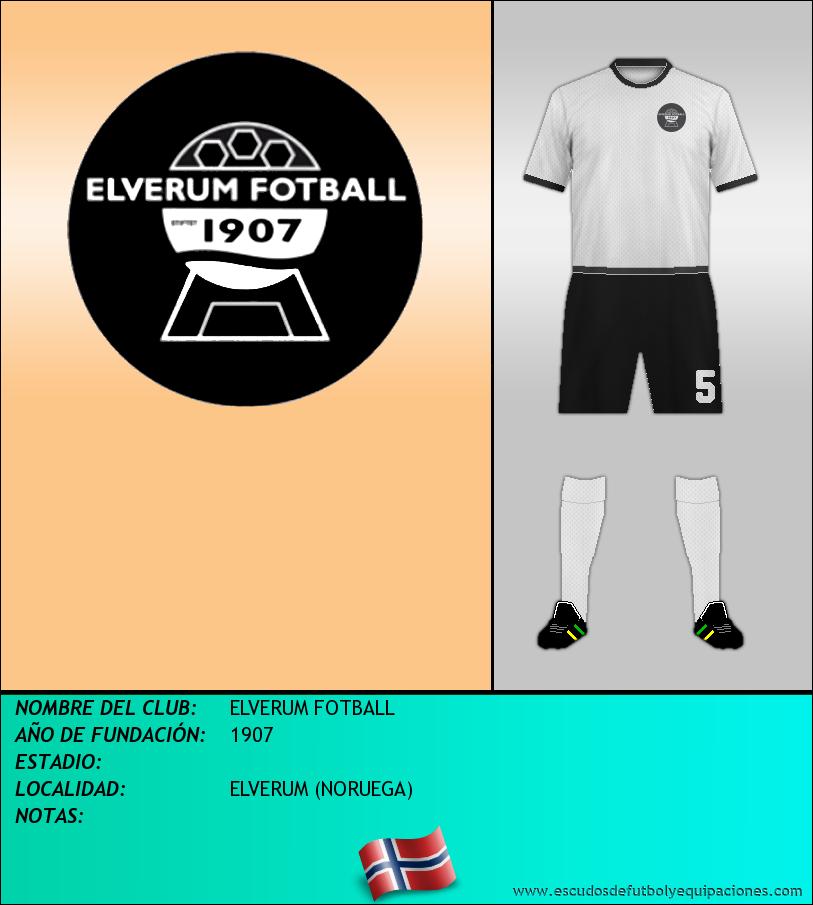 Escudo de ELVERUM FOTBALL