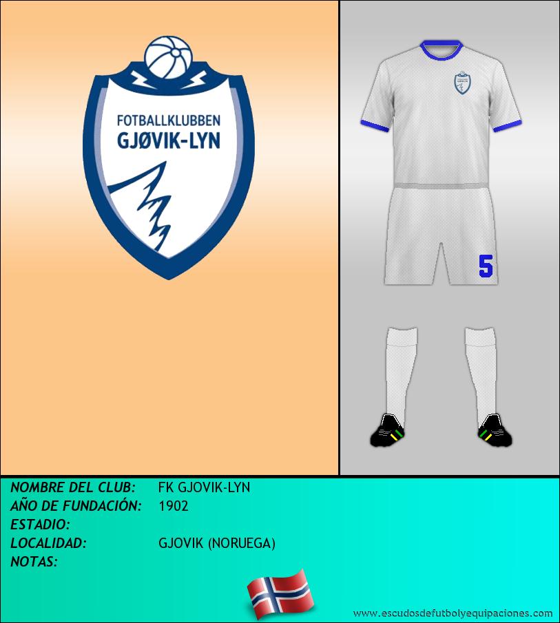 Escudo de FK GJOVIK-LYN