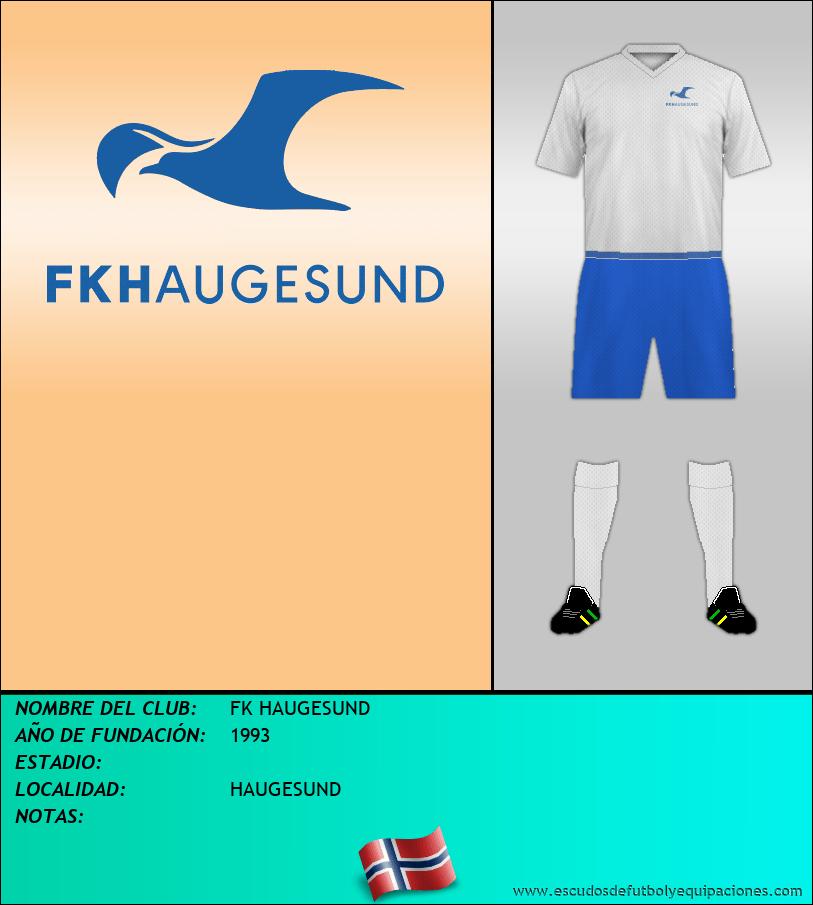 Escudo de FK HAUGESUND