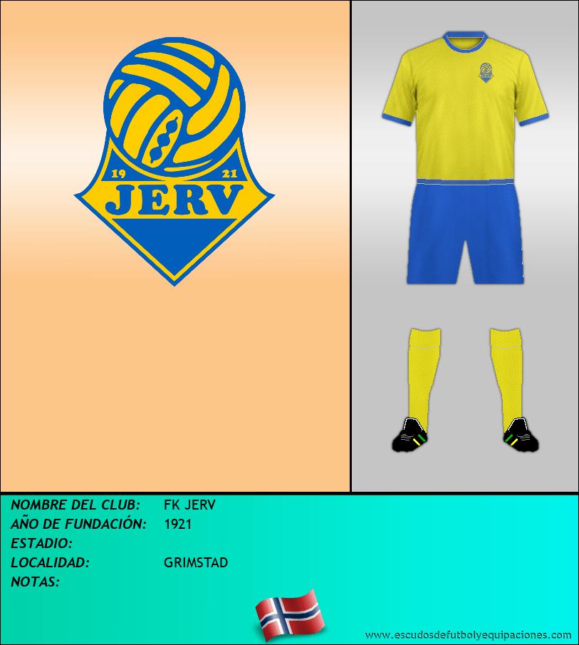 Escudo de FK JERV