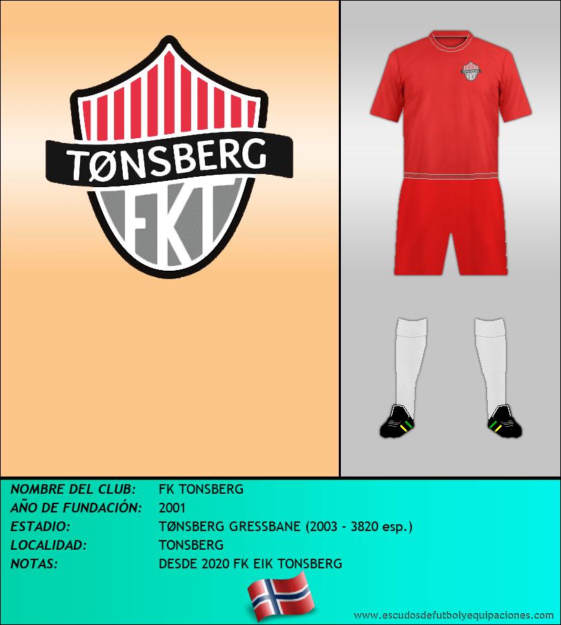 Escudo de FK TONSBERG