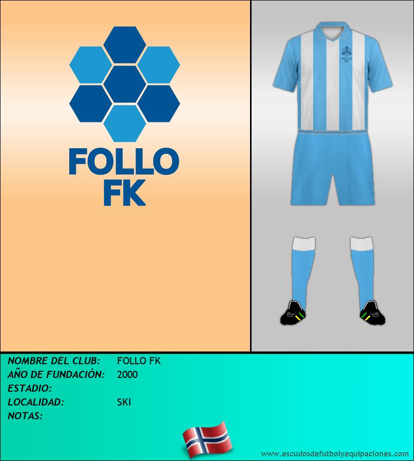 Escudo de FOLLO FK