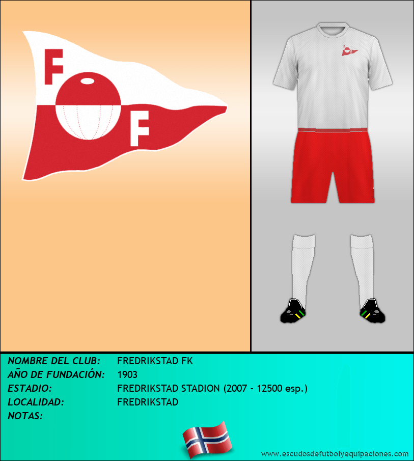 Escudo de FREDRIKSTAD FK