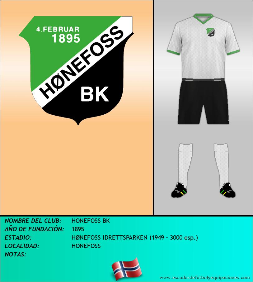 Escudo de HONEFOSS BK