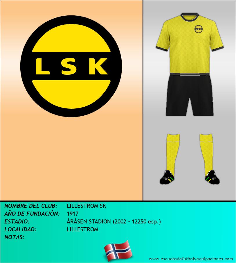 Escudo de LILLESTROM SK