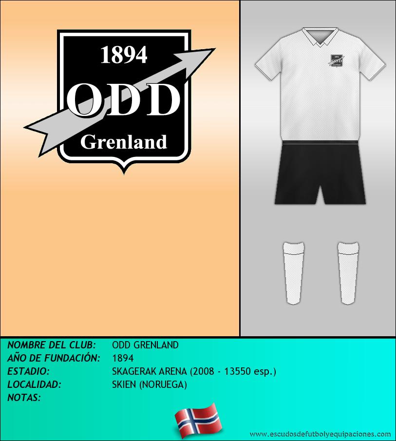 Escudo de ODD GRENLAND