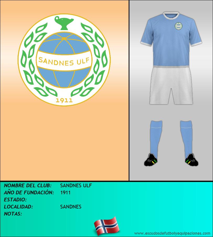 Escudo de SANDNES ULF