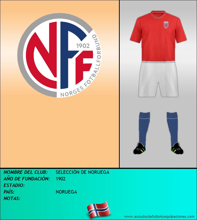 Escudo de SELECCIÓN DE NORUEGA