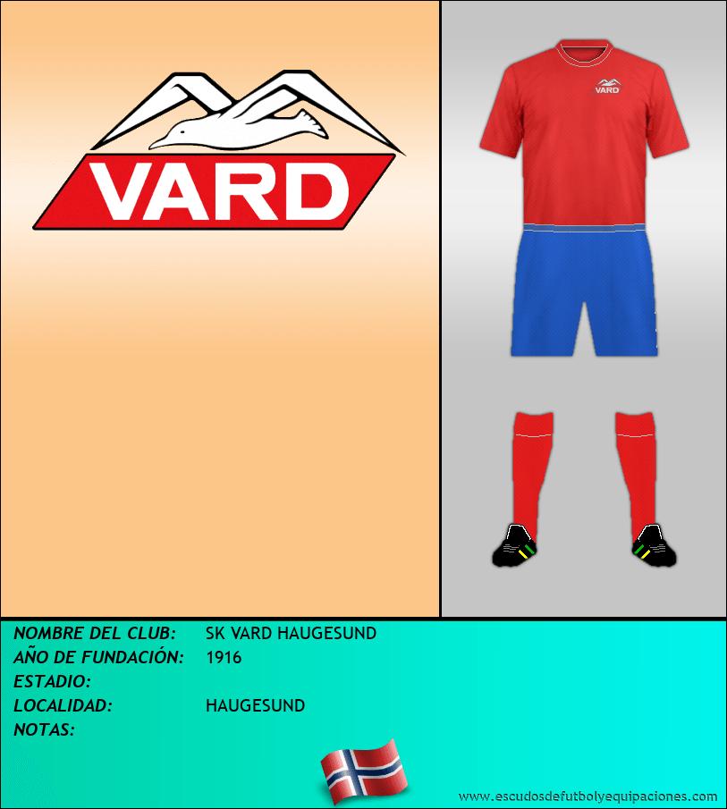Escudo de SK VARD HAUGESUND
