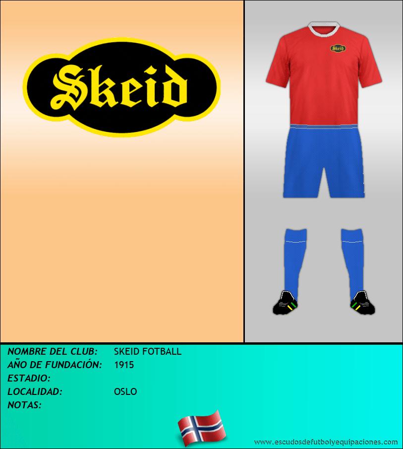 Escudo de SKEID FOTBALL