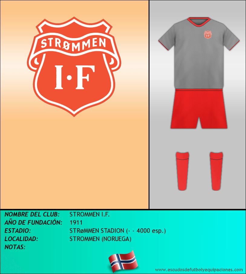 Escudo de STROMMEN I.F.