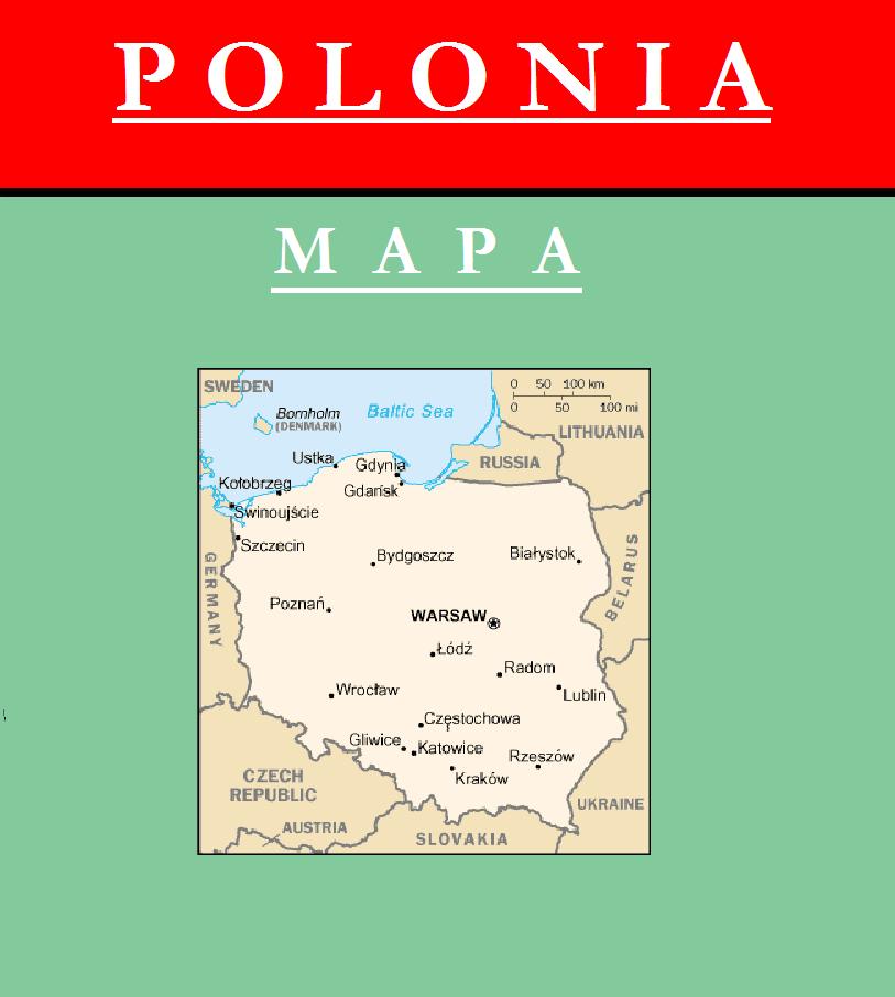 Escudo de MAPA DE POLONIA