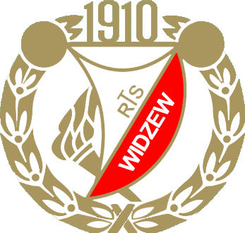 Escudo de RTS WIDZEW LODZ (POLONIA)