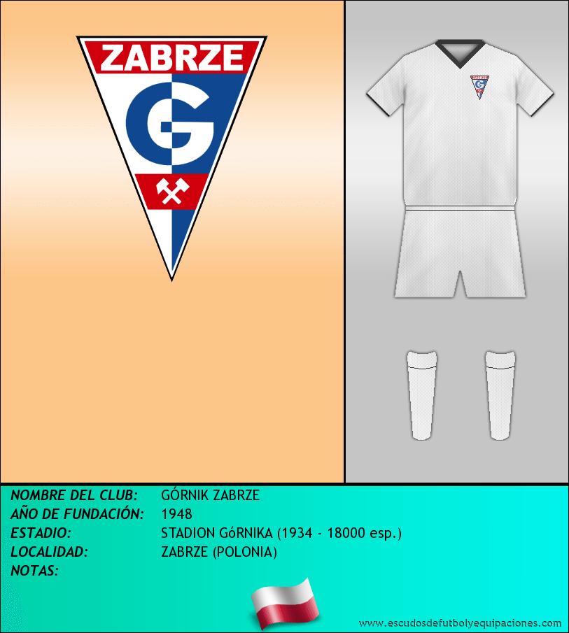 Escudo de GÓRNIK ZABRZE