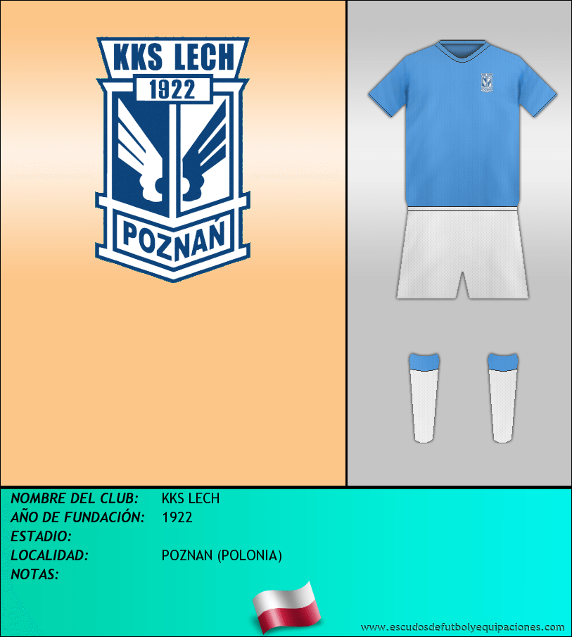 Escudo de KKS LECH