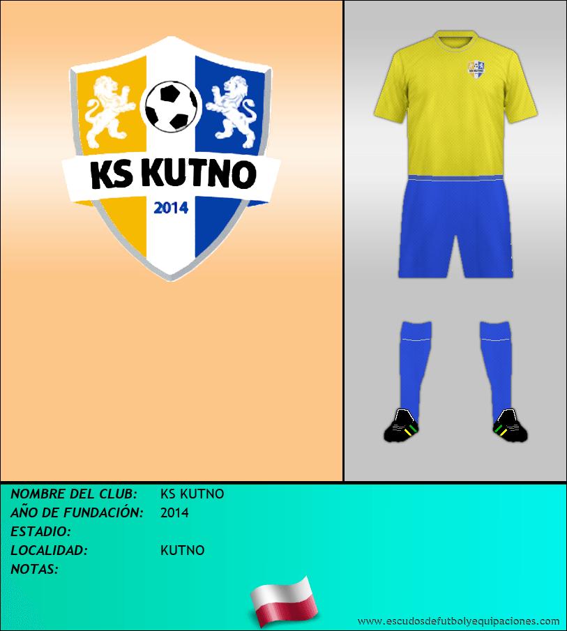 Escudo de KS KUTNO