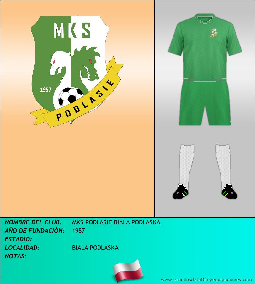 Escudo de MKS PODLASIE BIALA PODLASKA
