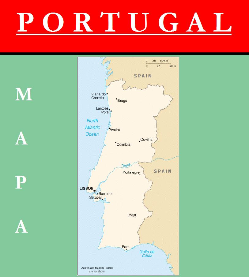 Escudo de MAPA DE PORTUGAL