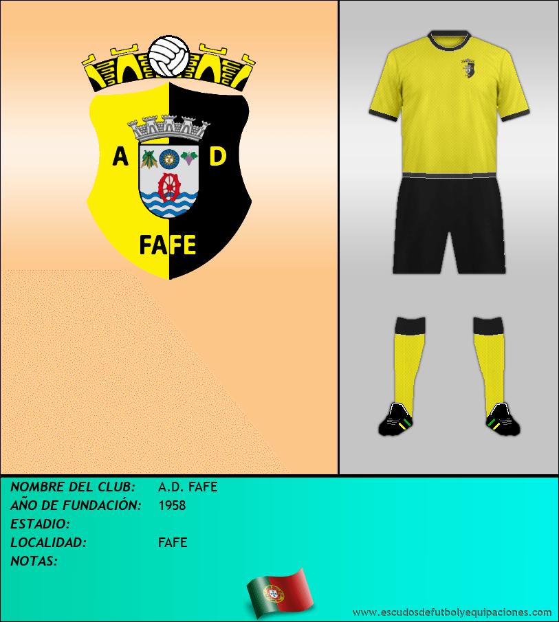 Escudo de A.D. FAFE