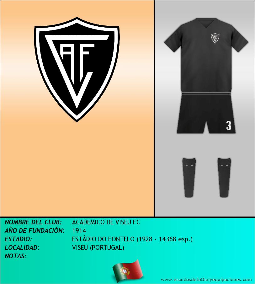 Escudo de ACADEMICO DE VISEU FC