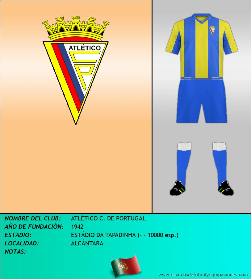 Escudo de ATLÉTICO C. DE PORTUGAL