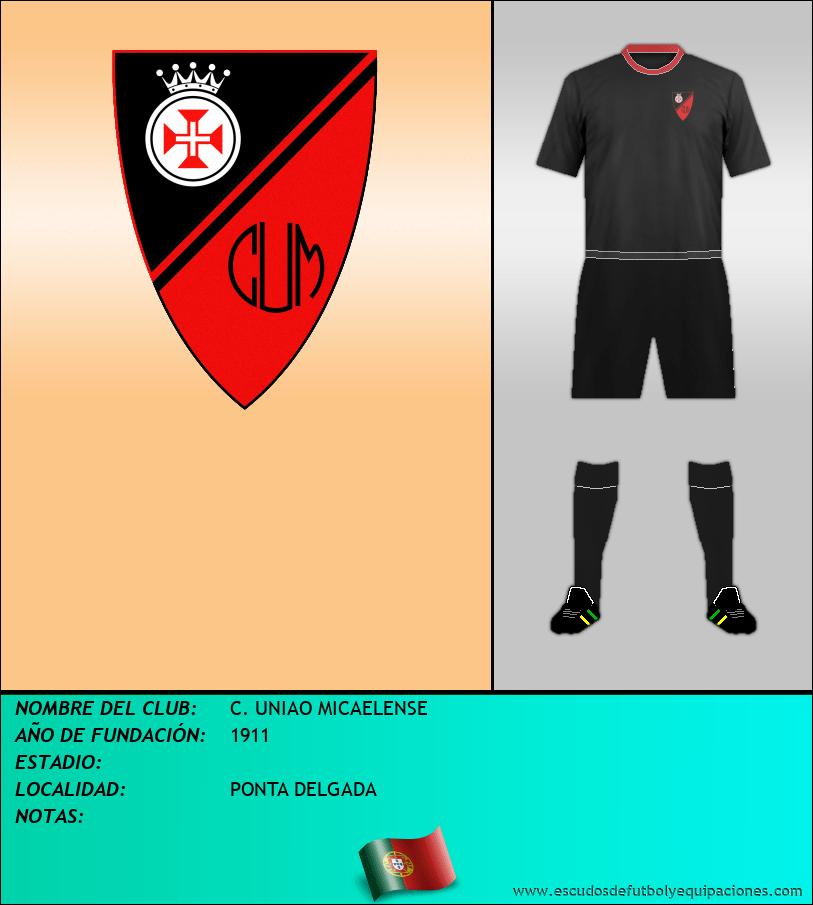 Escudo de C. UNIAO MICAELENSE