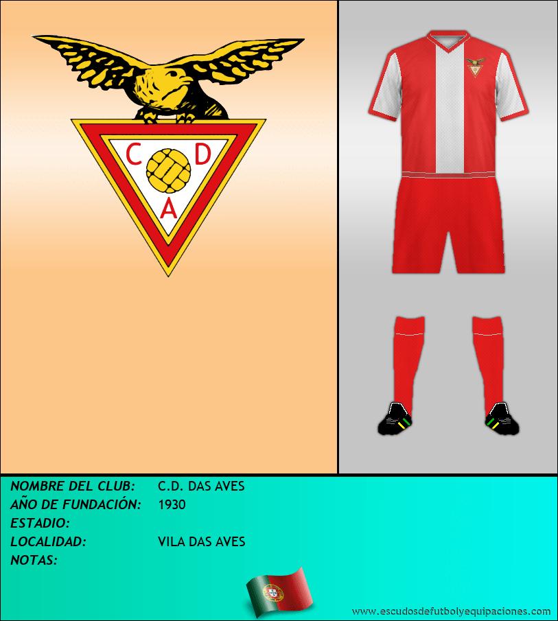 Escudo de C.D. DAS AVES
