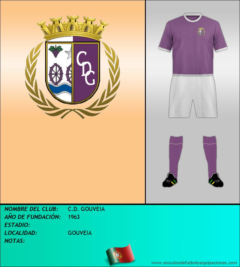 Escudo de C.D. GOUVEIA