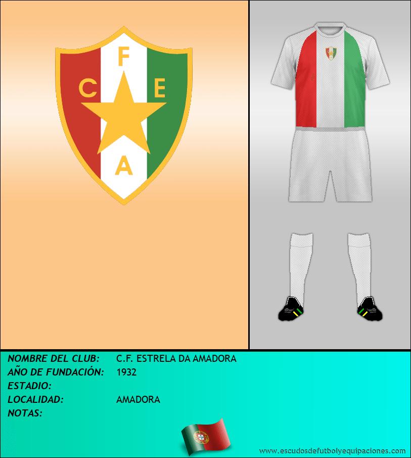 Escudo de C.F. ESTRELA DA AMADORA