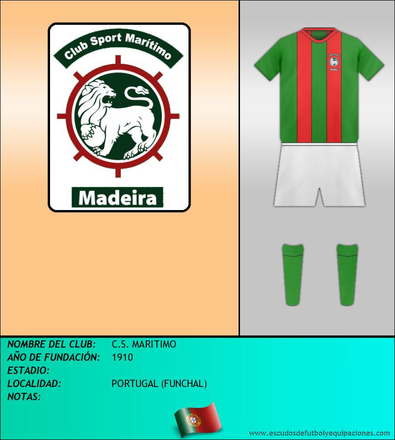 Escudo de C.S. MARITIMO