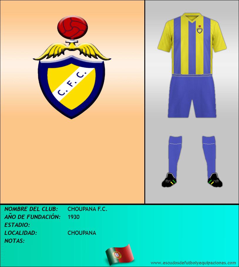 Escudo de CHOUPANA F.C.