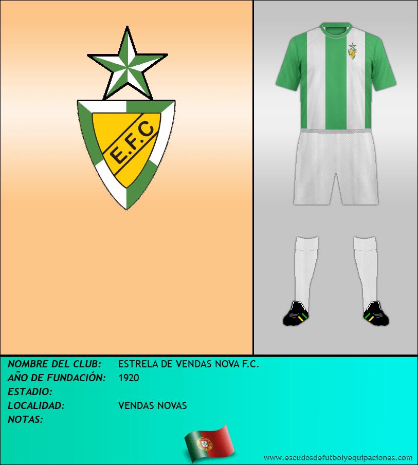 Escudo de ESTRELA DE VENDAS NOVA F.C.