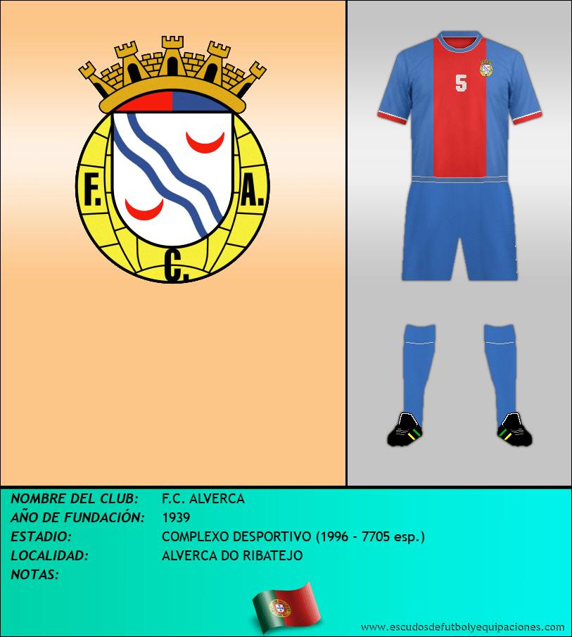 Escudo de F.C. ALVERCA