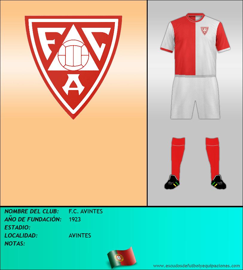 Escudo de F.C. AVINTES