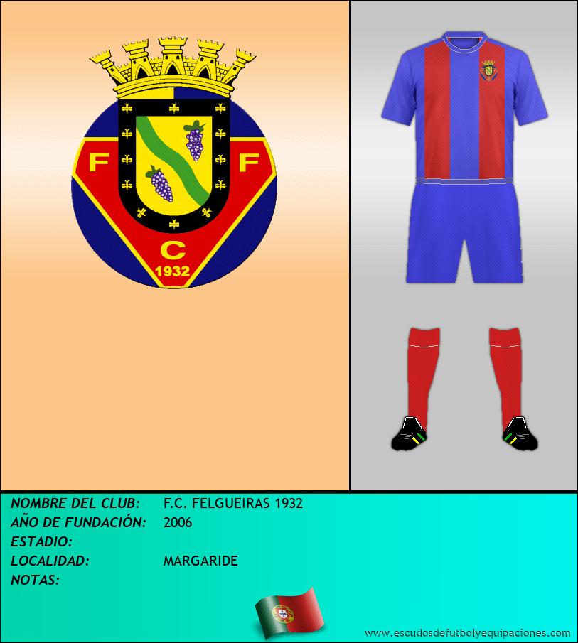 Escudo de F.C. FELGUEIRAS 1932