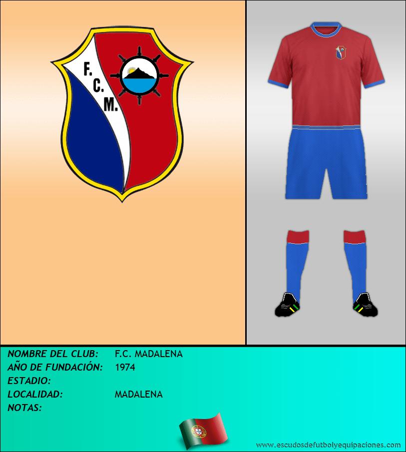 Escudo de F.C. MADALENA