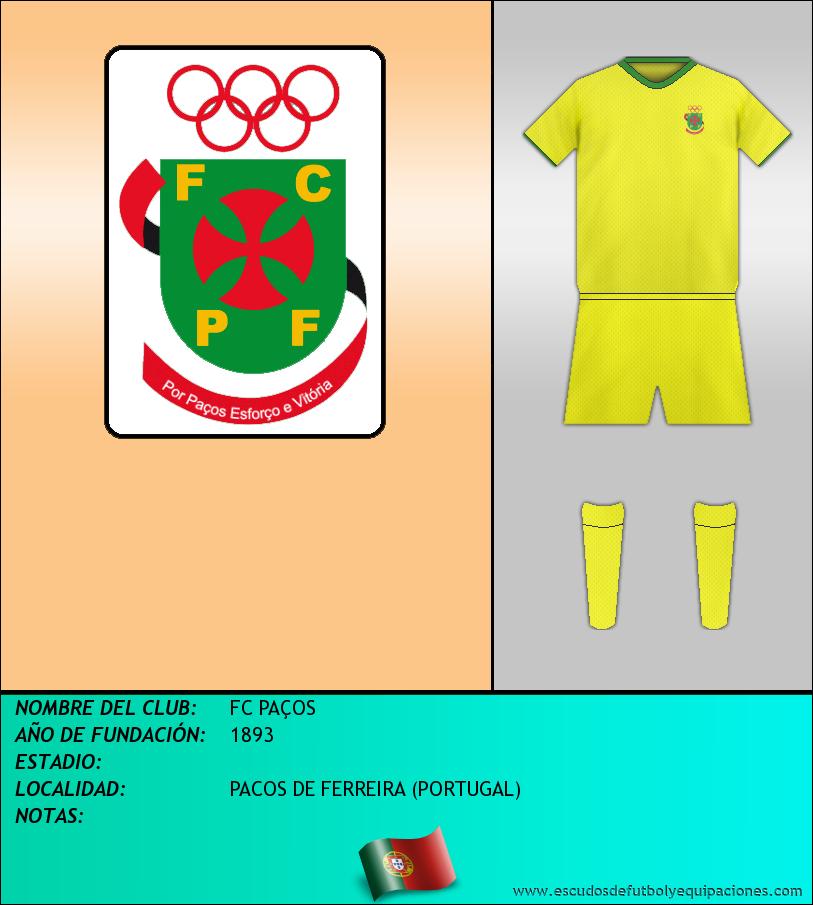 Escudo de FC PAÇOS