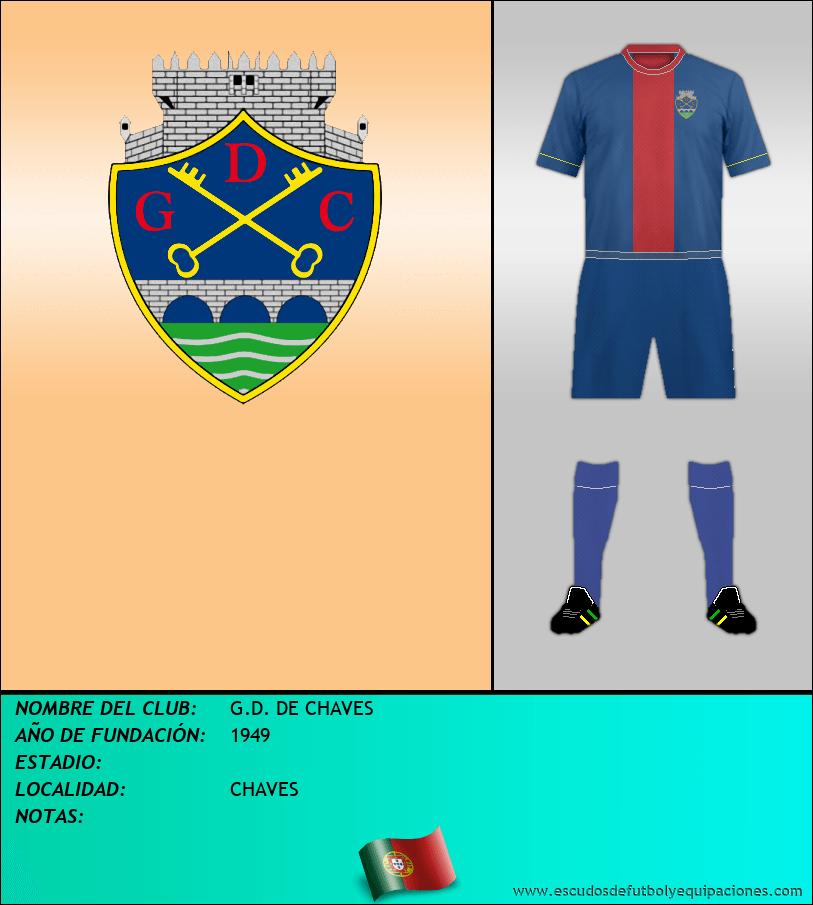 Escudo de G.D. DE CHAVES